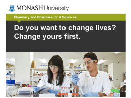 Pharmacy and Pharmaceutical Sciences