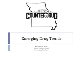 Emerging Drug Trends - Northland Coalition