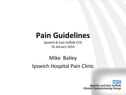 guideline - Ipswich and East Suffolk CCG