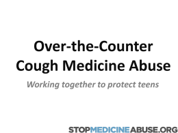 Preventing Teen Cough Medicine Abuse
