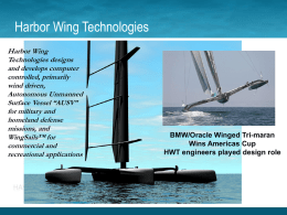 Harbor Wing Technologies PowerPoint