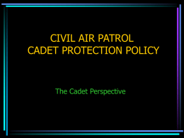 Cadet Introduction to CPPT