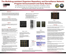 The Multidrug-resistant Organism Repository and
