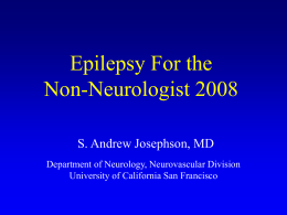 Epilepsy For Internists 2003