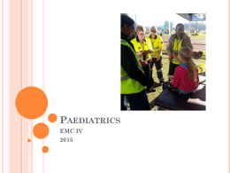 Paediatrics - Durban University of Technology