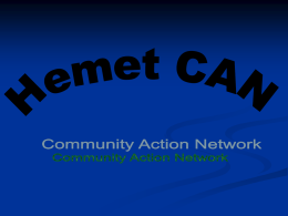 Hemet Community Action Network