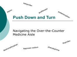 Push Down and Turn - Health Services