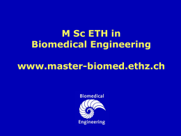 Masters in Biomedical Engineering