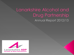 Lanarkshire Alcohol and Drug Partnership