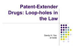 Patent-Extenders