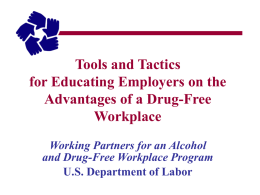 Working Partners for an Alcohol- and Drug