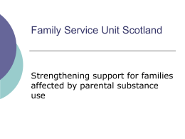 fsu Scotland - Families Outside