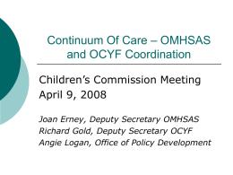 continuum of care presentation final