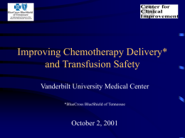 Perfecting Chemotherapy Delivery