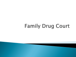 Family Drug Court - Children's Network of South Florida