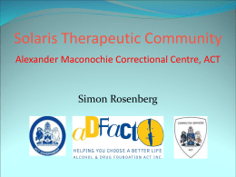 Solaris Therapeutic Community