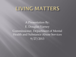 Living Matters - NAMI Tennessee Home Page