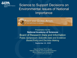 PowerPoint slides - National Academies