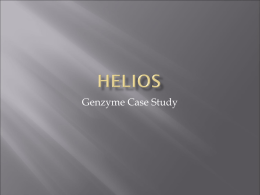 Genzyme Case Review