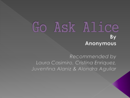 8 alondra GO ASK ALICE