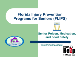 Senior Poison, Medication, and Food Safety