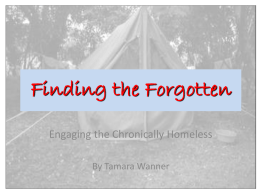 Finding the Forgotten