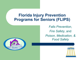 FLIPS – Florida Injury Prevention for Seniors