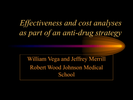 What is effectiveness research?