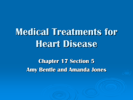 Medical Treatments for Heart Disease