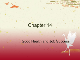 Ch._14__Good_Health_and_Job_Success