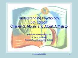 Understanding Psychology 5th Edition Morris and Maisto