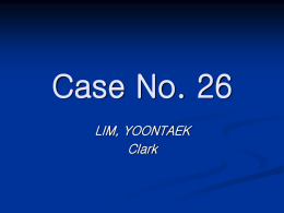 Case No. 26 - Caangay.com