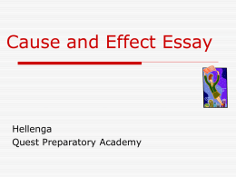 causes - Mr.Hellenga`s Weebly