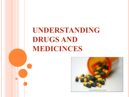understanding drugs and medicinces what is the difference between