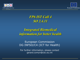 resulting in integrated biomedical information
