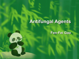 Antifungal Agents