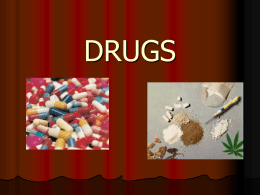 Intro to Drugs - World of Teaching
