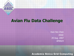 2nd Avian Flu Data Challenge