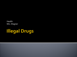 Illegal Drugs - Fort Thomas Independent Schools