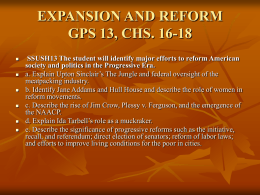 expansion and reform gps 13