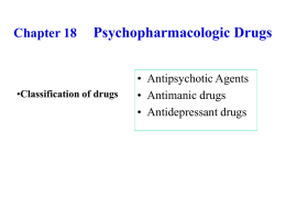 Chapter 17 Antipsychotic Agents