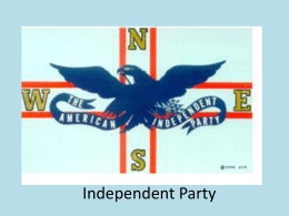 Independent Party