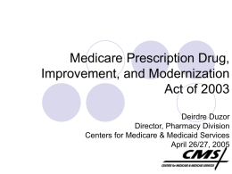 0504MMADuzor (Medicare Prescription Drug, Improvement, and
