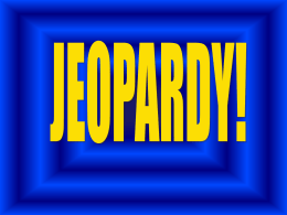 Jeopardy - Cloudfront.net