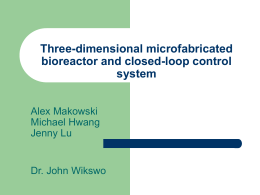 Three-dimensional microfabricated bioreactor and