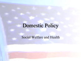 Domestic Policy - Newberry