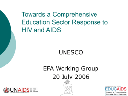 Quality Education and HIV/AIDS
