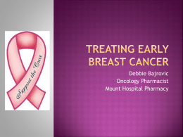 chemotherapy - Breast Cancer Research Centre WA