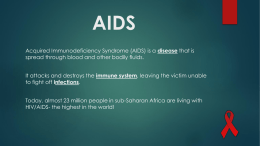 AIDS in Africa - Cobb Learning