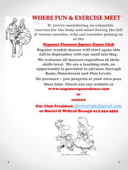 here - Napanee Pioneers Square Dance Club